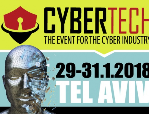 JOIN US AT CYBERTECH 2018